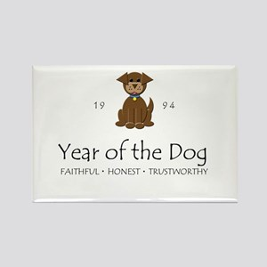 """""""Year of the DOg"""" [1994] Rectangle Magnet"""